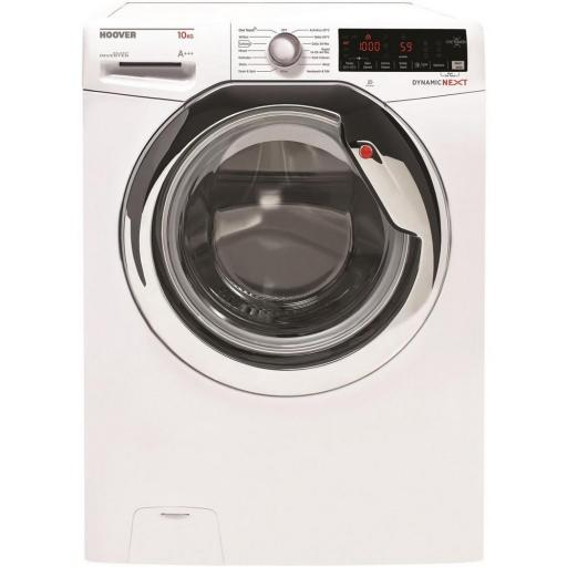 Hoover DWOAD510AHC8 10kg 1500 Spin Washing Machine - White - A+++ Rated