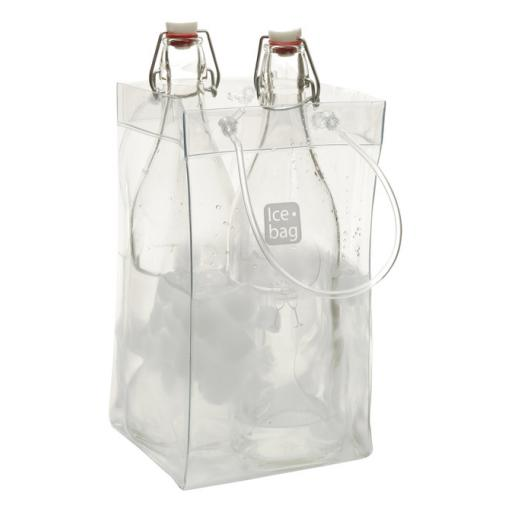 Ice Bag Wine Cooler Clear King Size