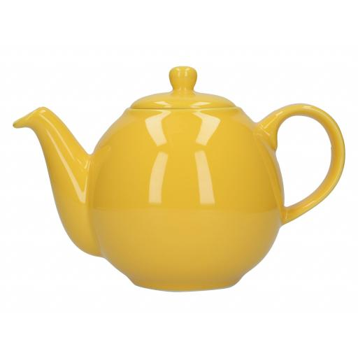 London Pottery Globe Teapot, Yellow, 4 Cup (900 ml)