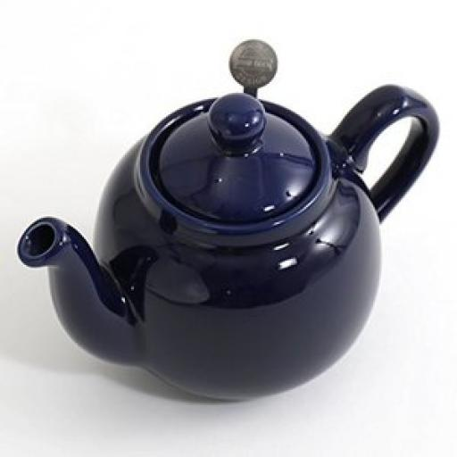 London Pottery Globe Teapot Cobalt Blue 4 Cup (900 ml)