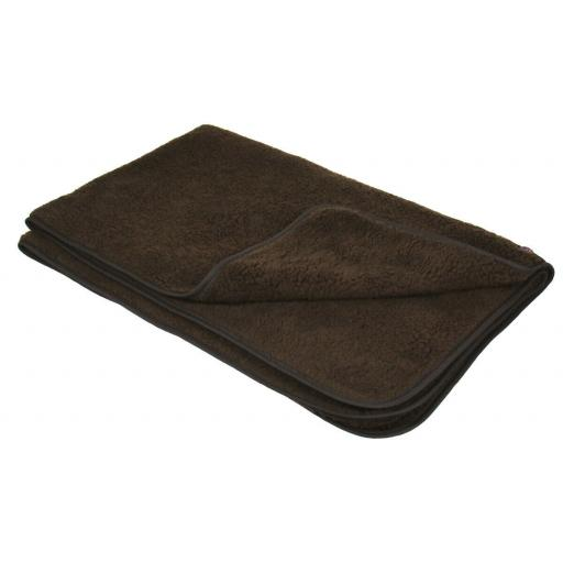 Sherpa Fleece Blanket for Pet Beds