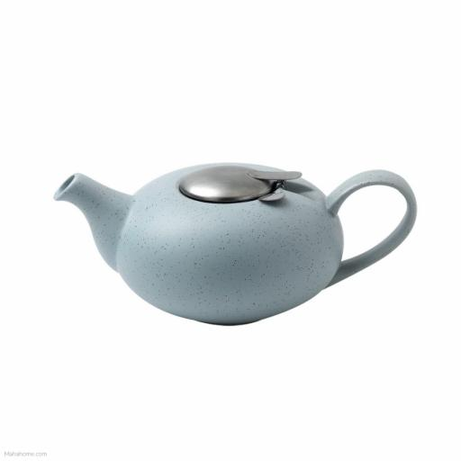 London Pottery Pebble Teapot With Infuser: 2 Cup - Light Blue