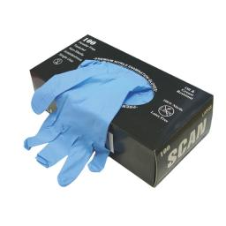 Nitrile Examination Gloves - Large (Box 100)