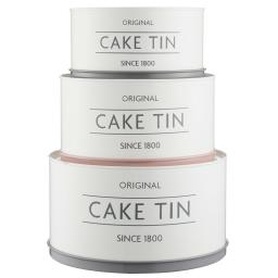 Mason Cash Innovative Kitchen 3 Piece Cake Tin Set