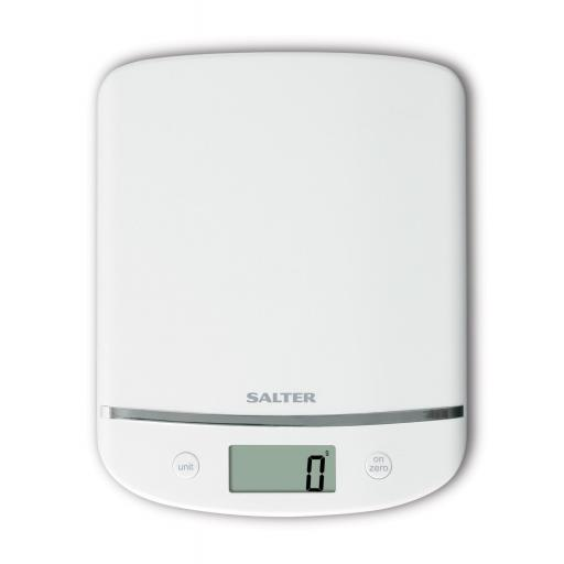 Salter Curve Glass Electronic Digital Kitchen Scales