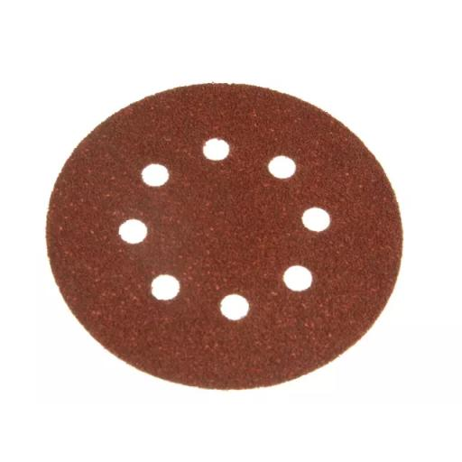 Perforated Sanding Discs 125mm Coarse (Pack of 5)