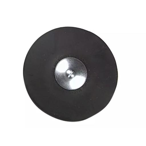 De Luxe Rubber Backing Pad 120mm