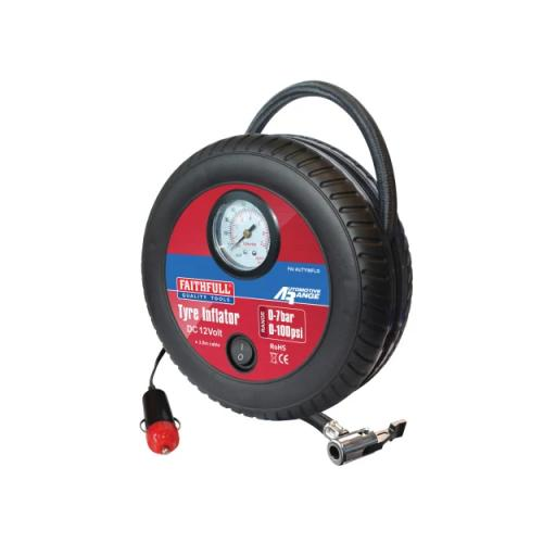 Low Volume Tyre Inflator 12V