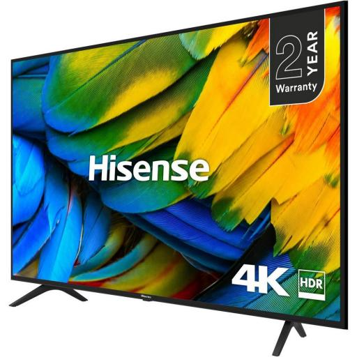 "Hisense H43B7100UK 43 "" 4K UHD SMART TV Black A+ Rated"