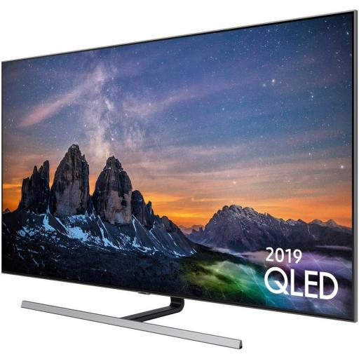 "Samsung QE65Q80RATXXU 65"" QLED 4K HDR 1500 Smart TV,B Rated"