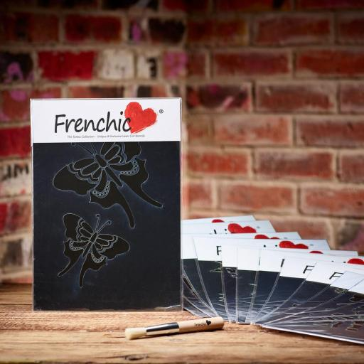 Frenchic Butterflies Stencil