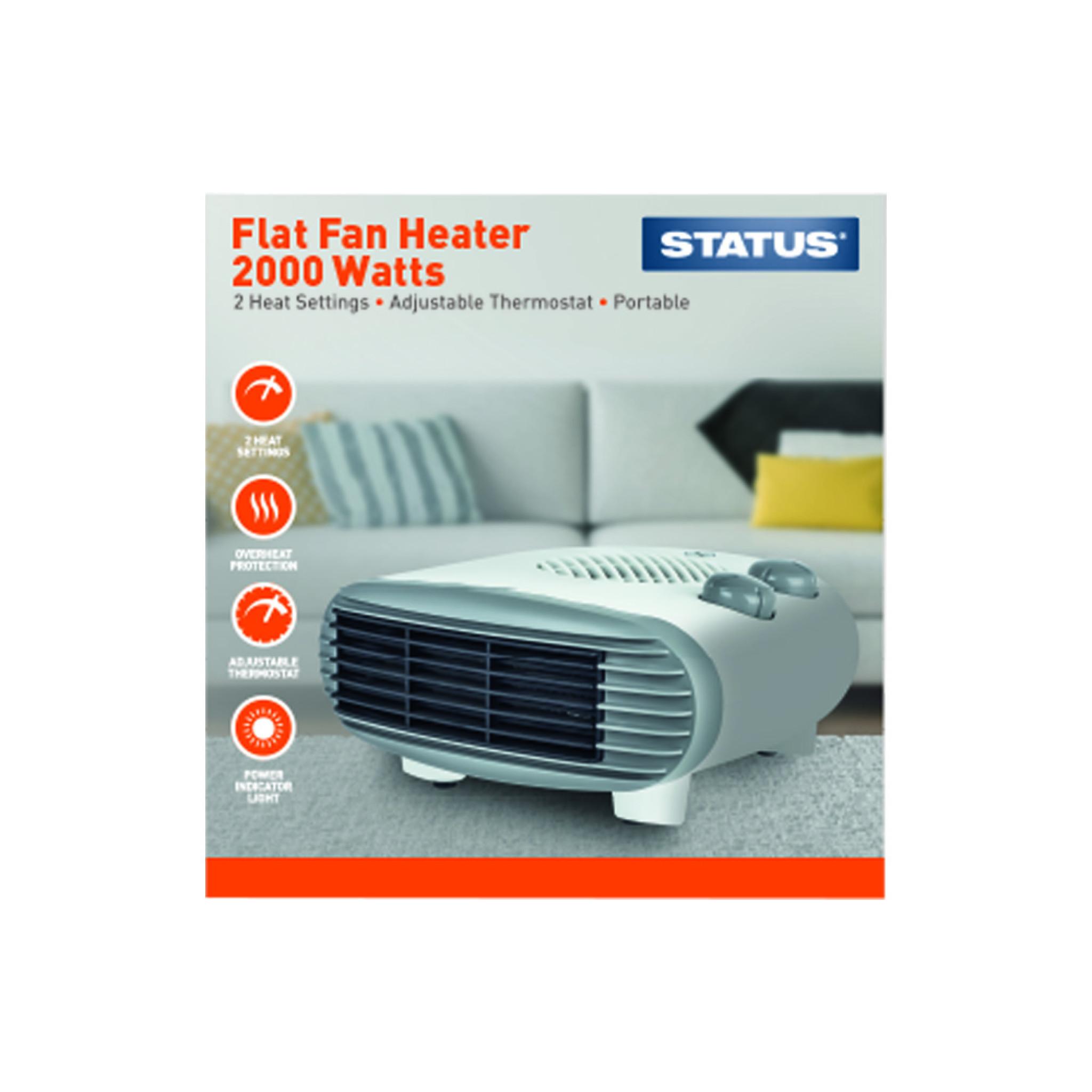 Status 2000W Flat Fan Heater | Staines
