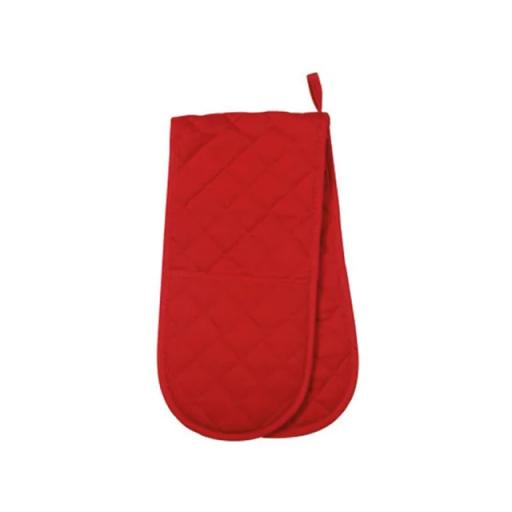 Love Colour Double Oven Glove Scarlet