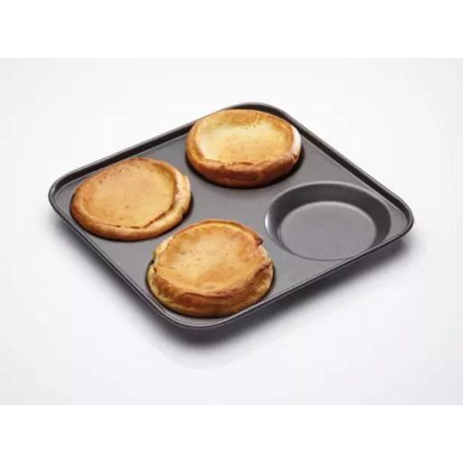Master Class Non Stick Yorkshire Pan 4 hole