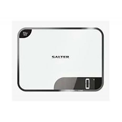 Electronic Kitchen Scale White 15kg Capacity