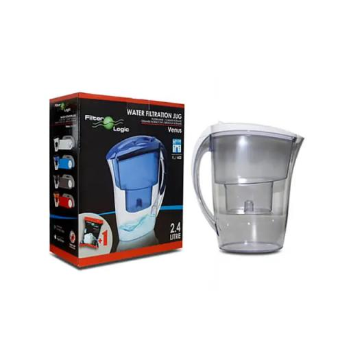 Water Filter Jug + Filter White