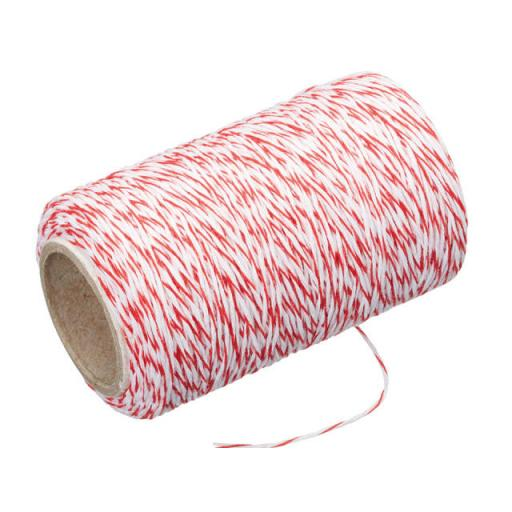 Butchers Twine + Cutter Red/ White