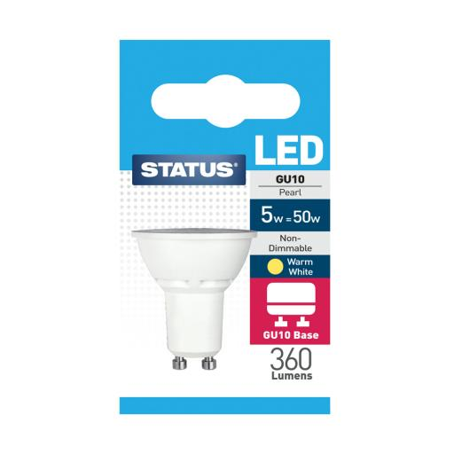5w GU10 Led Warm White Bulb