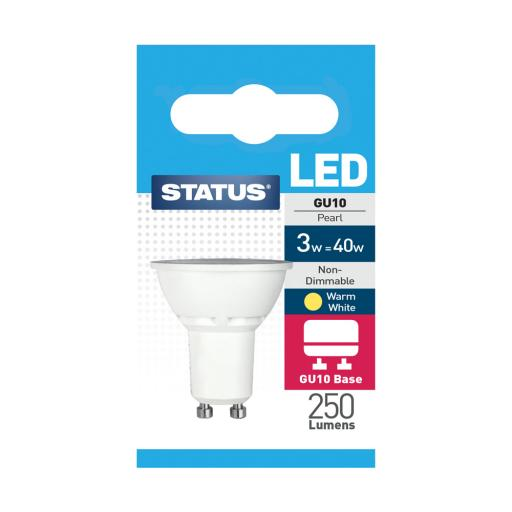 3w GU10 Warm White Led Bulb