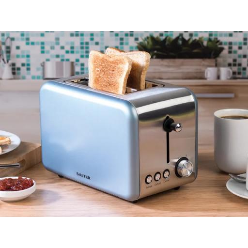 Polaris Toaster 2 Slice Pearl Blue