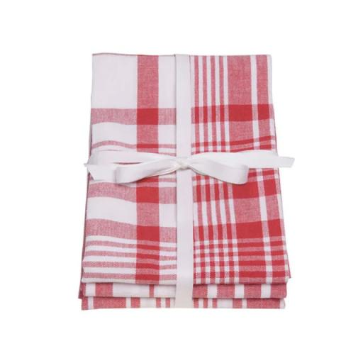 Love Colour Tea Towels Extra Large x 3 Scarlet