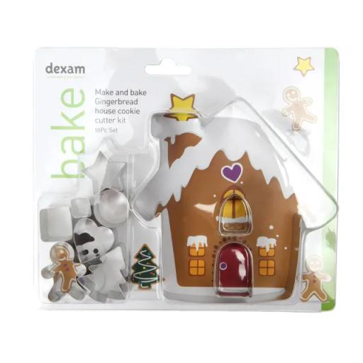 Make + Bake Ginger Bread House Kit 10 Piece