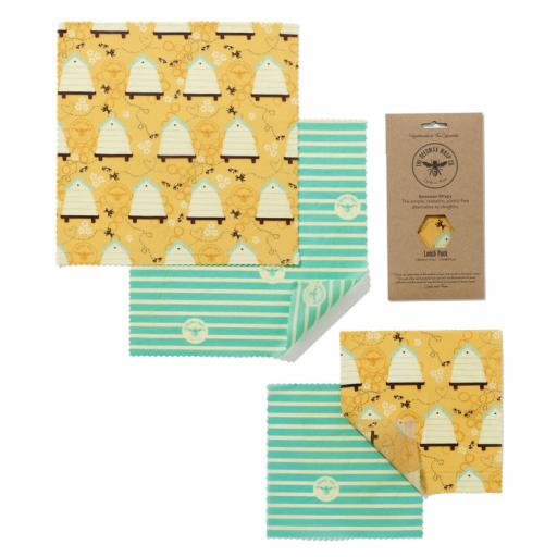 BEESWAX WRAP CO. WRAPS LUNCH PACK