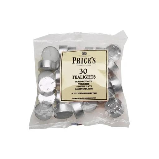 Tealights Bag White x 30 (4 Hour)