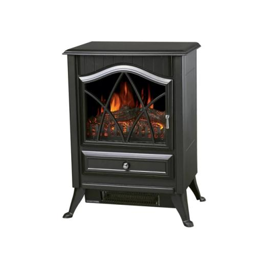 Venus Coal Effect Stove Black