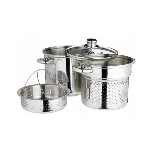 Kitchencraft 26cm Multi Cooker & Steamer