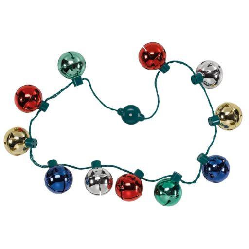 LED Jingle Bell Necklace