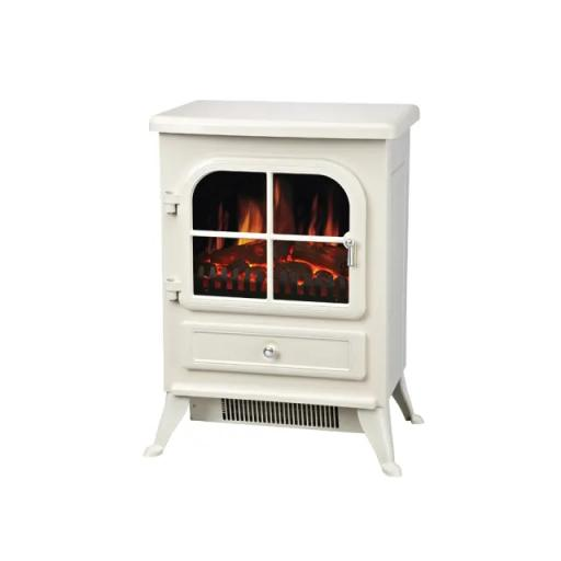 Vista Coal Effect Stove Cream
