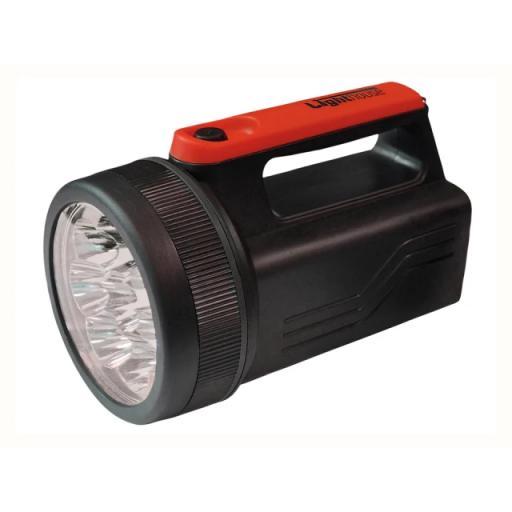 Spotlight 8 LED + 6V Battery