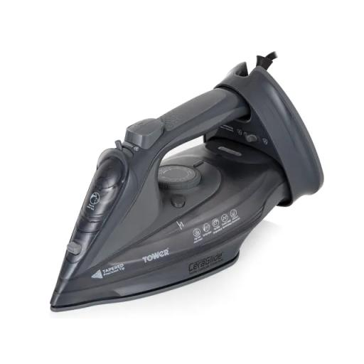 Cord/Cordless Steam Iron Grey