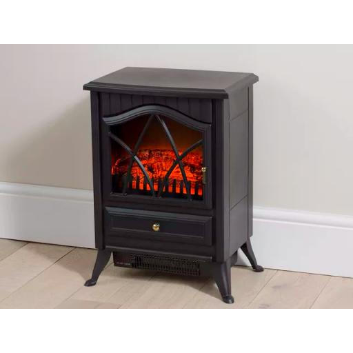 Stove Effect Heater 1850W