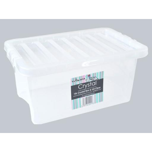 What More Clear Storage Boxes w/Lid