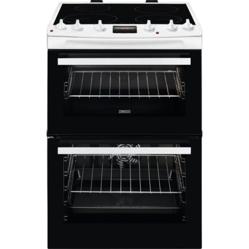 Zanussi ZCI66250WA Electric Cooker with Induction Hob