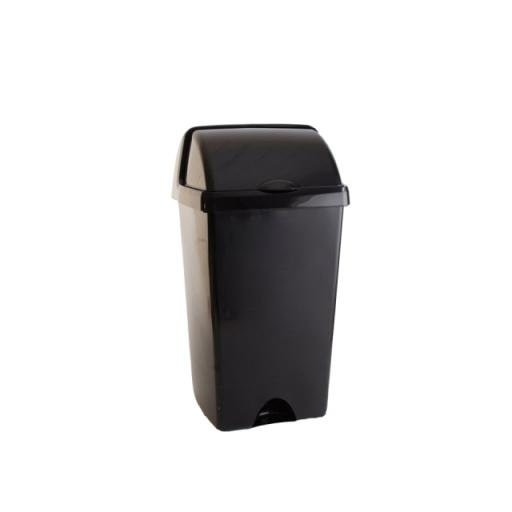 Roll Top Bin Metallic 50 Litre