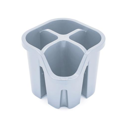 Eco Cutlery Drainer Grey
