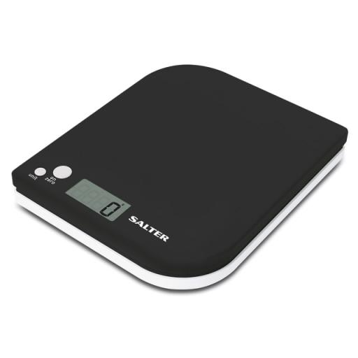 Electronic Kitchen Scales Leaf Black/ White