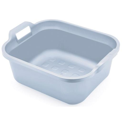 Eco Range Rectangle Bowl + Handles Grey