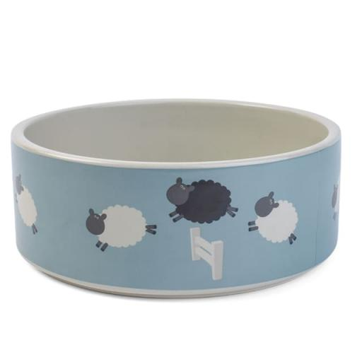 Ceramic Bowl Counting Sheep