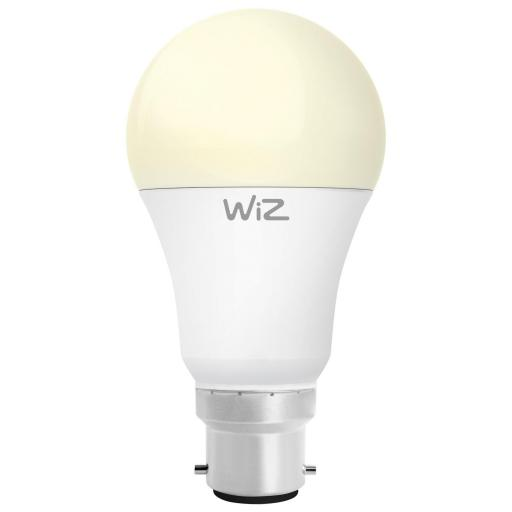 Wiz Warm White WZ20826011 - A60 Bayonet Smart Bulb Fully Dimmable
