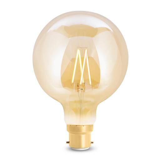 Wiz Tunable Filament WZ21889571_A - G95 Bayonet Amber Fully Dimmable