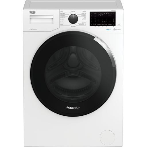 Beko WEC84P64E2W 8kg 1400 Spin Washing Machine - White - A+++ Energy Rated